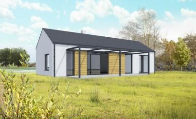 Montovaný modulový domek