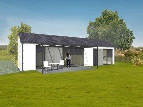 Montovaný dřevěný dům Easy 48